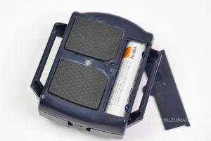 AYSHTRの「いびきストッパー」は単四乾電池1つ使用(付属せず)