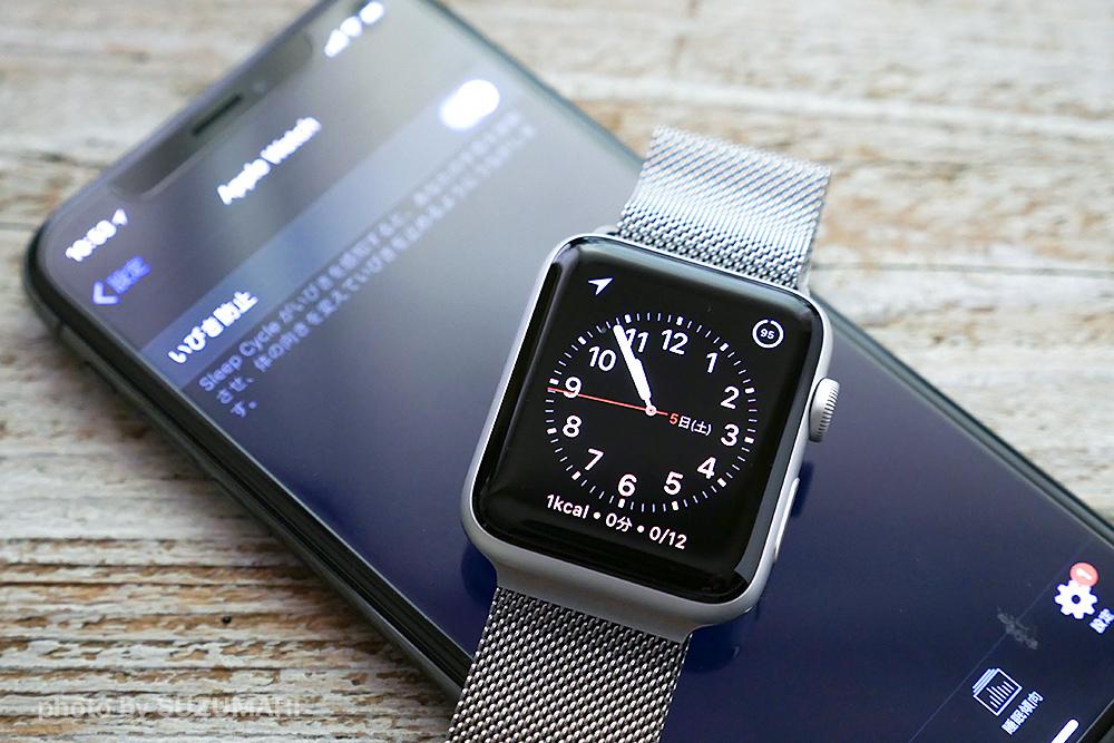 アプリSleep CycleがApple Watchと連携していびき防止に