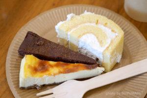 低糖質ケーキ3つ