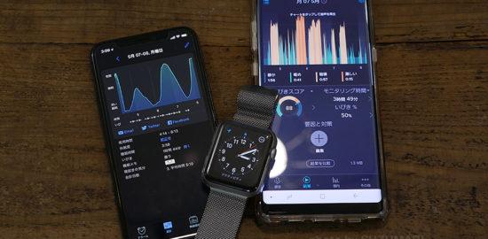 SleepCycleとApple Watch