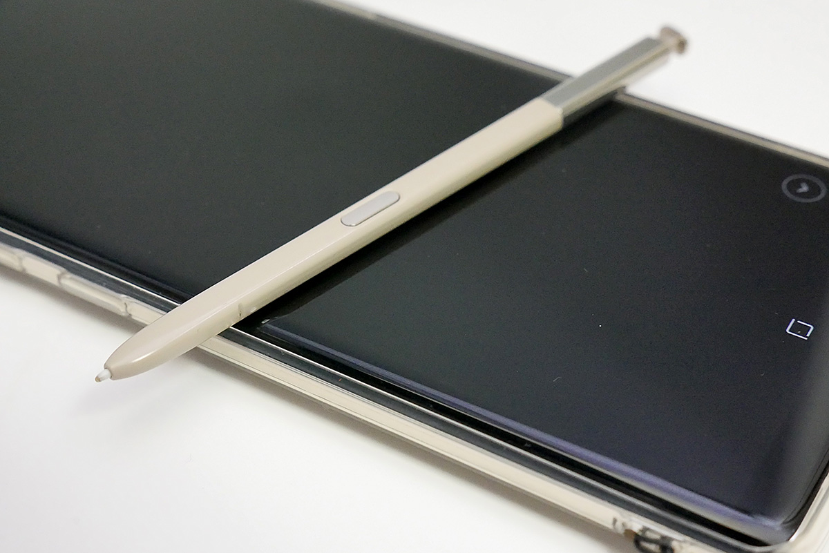 Galaxy Note8のSペン