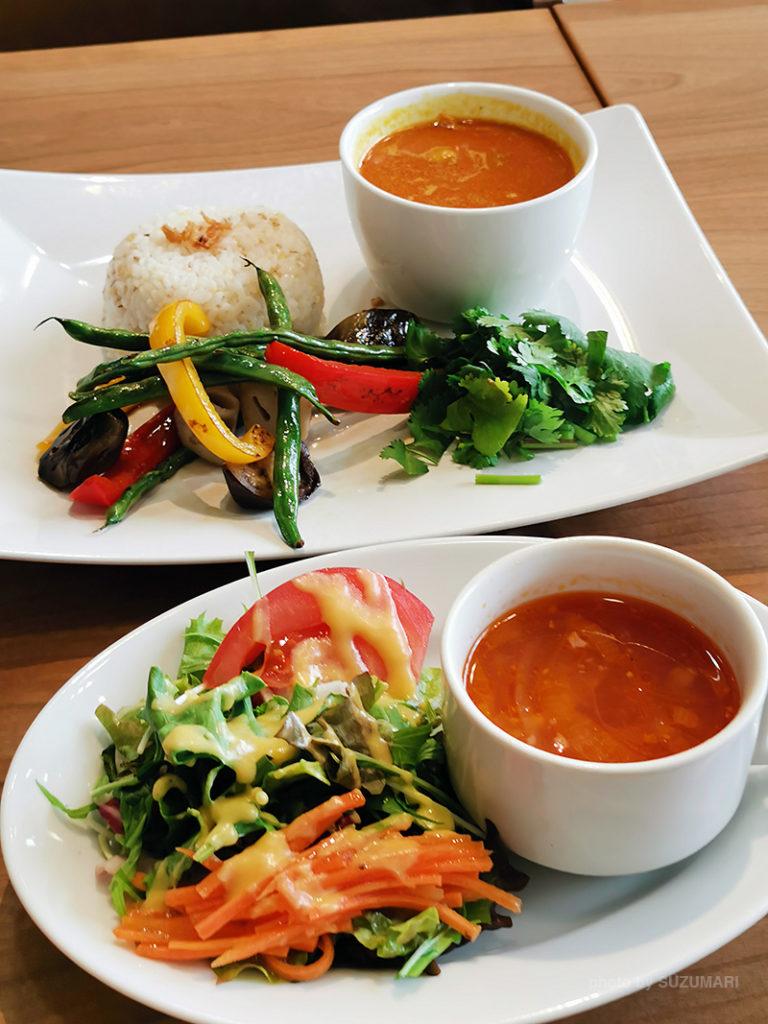 焼き野菜のイエローカレー