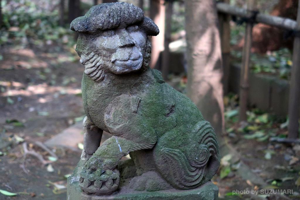 巽神社の狛犬要チェック!