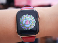 国際ヨガデーにApple Watch取材
