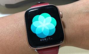 Apple Watchの呼吸アプリケーション