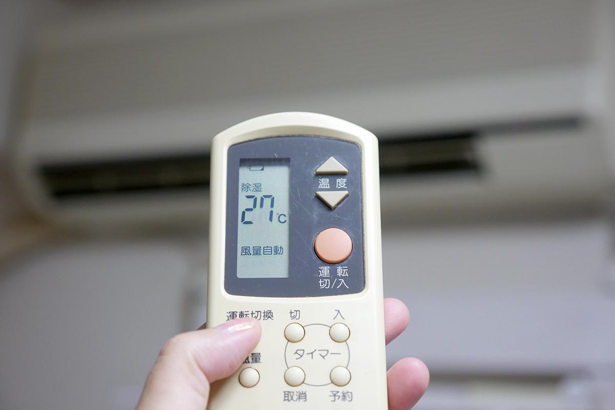 真夏のエアコンの使い方