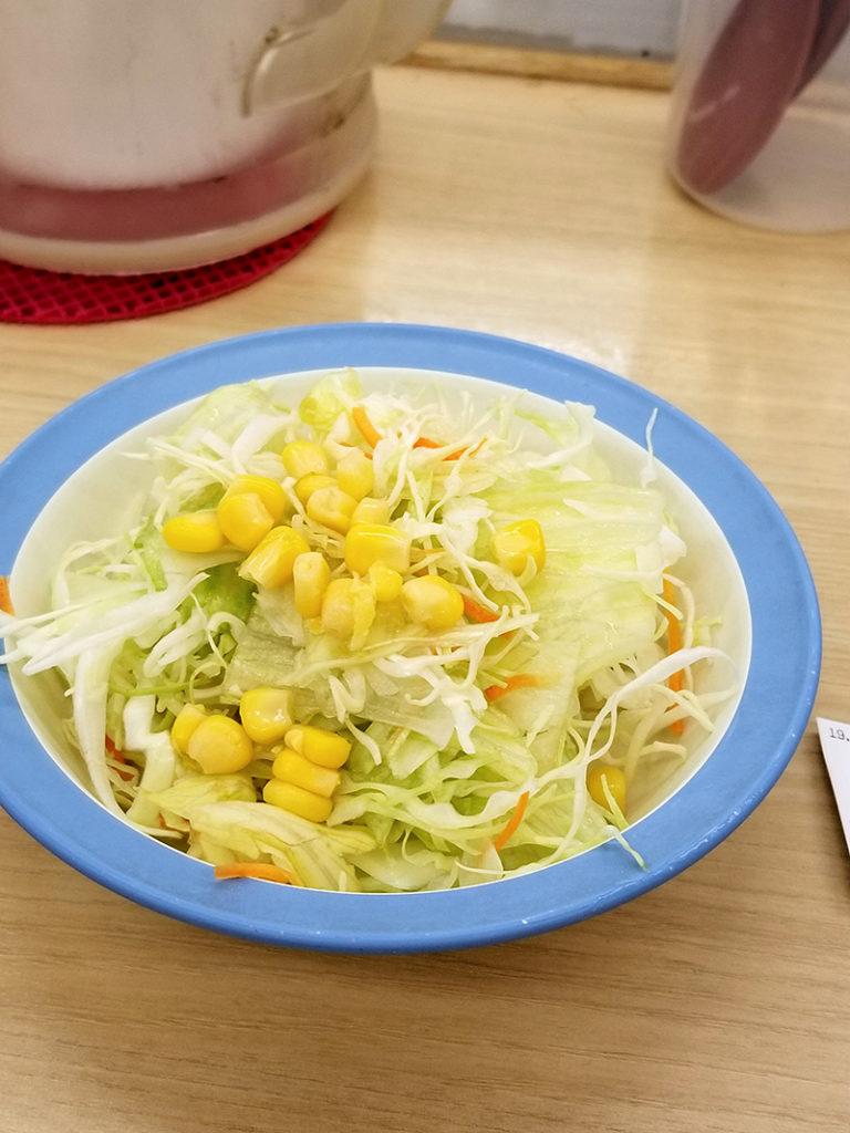 松屋の生野菜 110円