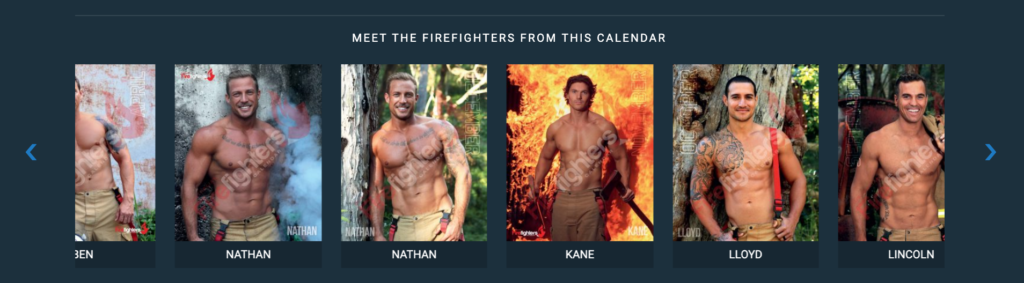 Australian Firefighters 2020 Calendarsより