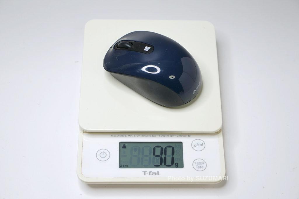 Microsoftのワイヤレスマウス