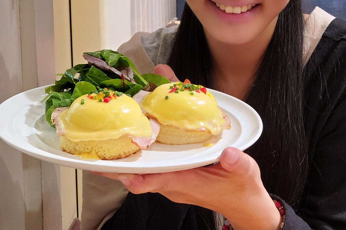 Sarabeth'sのエッグベネディクト