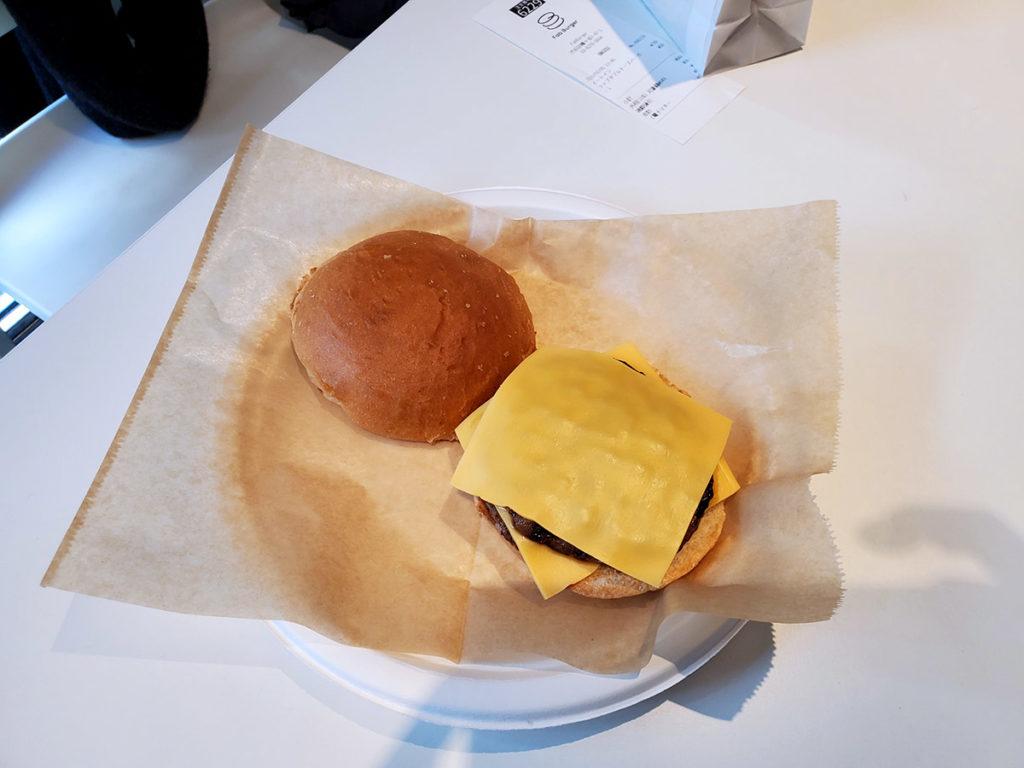 初期状態のハンバーガー