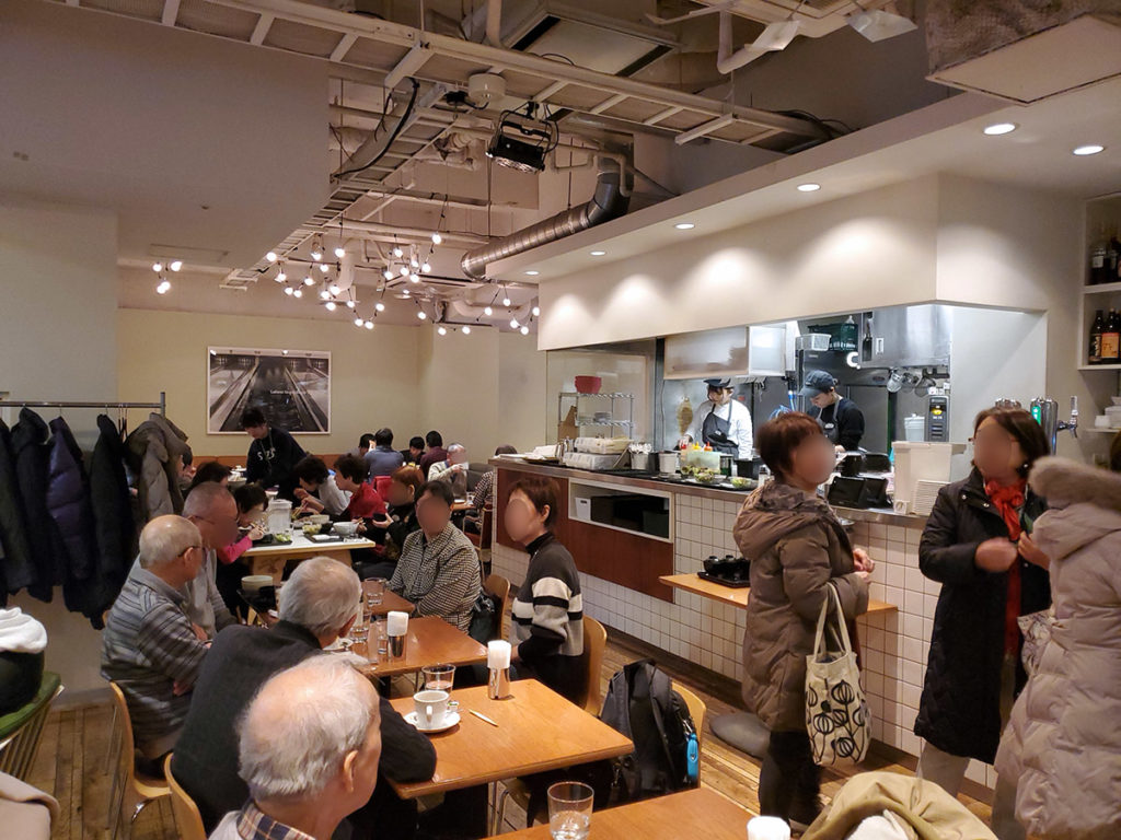 笹塚ボウルのレストラン