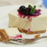 カミツレの豆腐のチーズケーキ