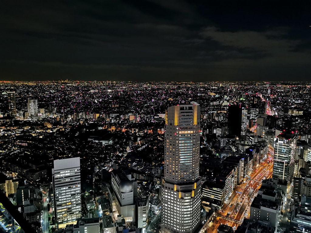 SHIBUYA SKYの眺め