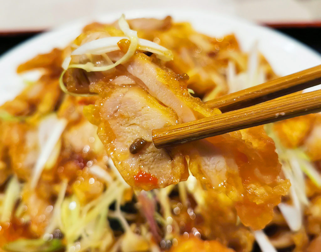 がっつり食べられる鶏肉