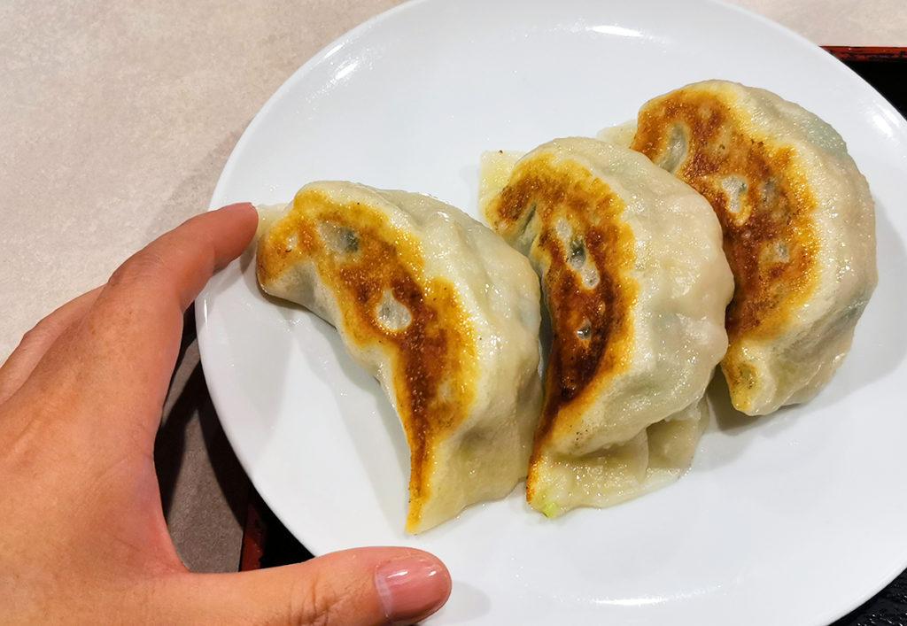 焼き大餃子3個