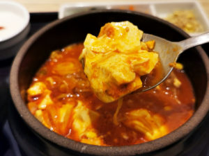 これが韓国のお豆腐