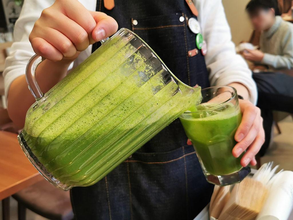 水のようにお代わりできる野菜ジュース