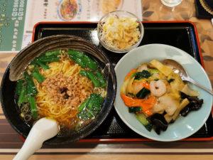 台湾ラーメンと中華飯