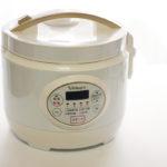 糖質カット炊飯器 ホワイトビアレグレ
