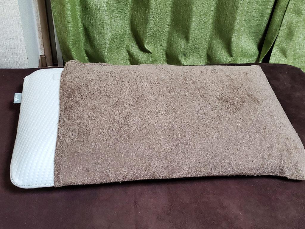 既存の枕カバーがいずれも使えず!